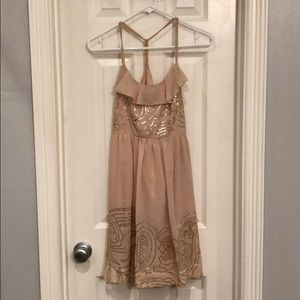 Dresses & Skirts - Peach colored dress size S